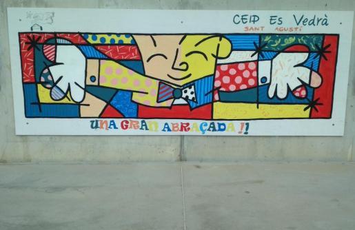 'Una gran abraçada', Plaza del Futuro. Hospital Can Misses