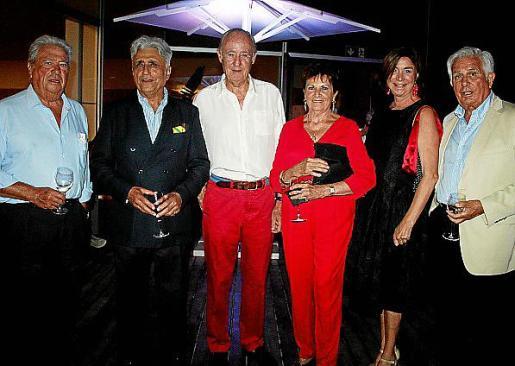 Manuel Rossinyol, Ramón Montis, José Conrado, Benedette de Luguet, Elena Mena Tecglen y Manuel Nadal de Uhler.