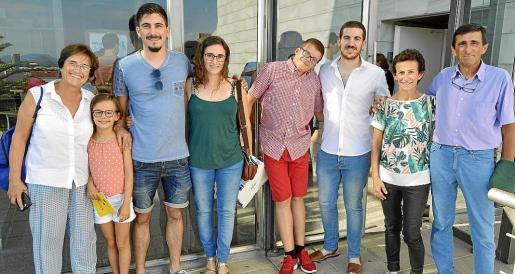 Joana Morey, Inés García, Pere Amer, Teresa Pizà, Pedro Ramis, Joan Enric Ramis, Concha Cloquell y Toni Pizà.
