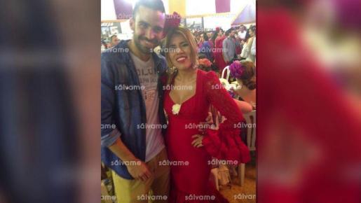La imagen de Isa con Antonio Manuel Guerrero difundida por el programa de Telecinco.