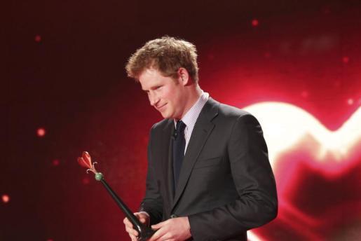 Foto de archivo del Príncipe Harry de Inglaterra.