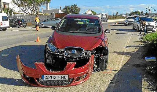 Uno de los vehículos implicados en el atropello mortal de Vanessa Patricio.