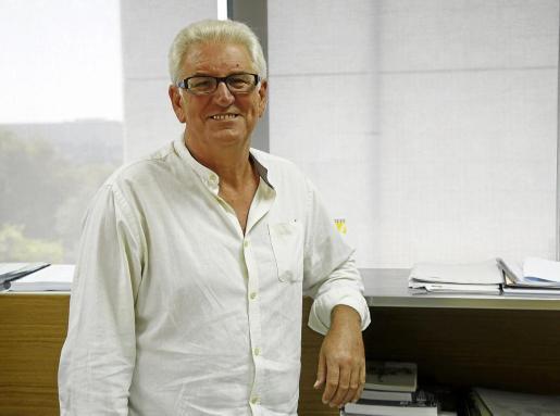 Antoni Garcías, gerente de Abaqua, en las instalaciones de Grupo Prensa Pitiusa.