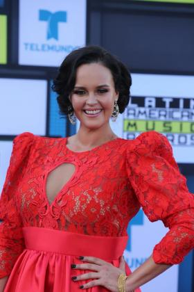 Imagen de Shaila Dúrcal en los Premios Latinos.