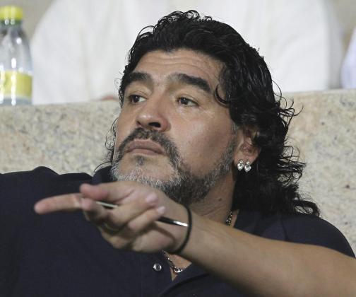 El argentino Diego Armando Maradona.