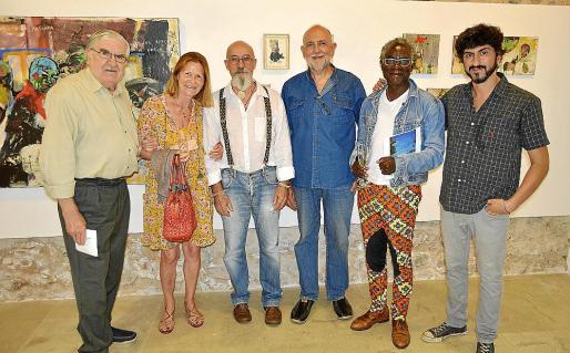 Rafael Amengual, Annie Hagamann, Miquel Mesquida, Joan Servera, Christopher Moukoun y Pol Font.