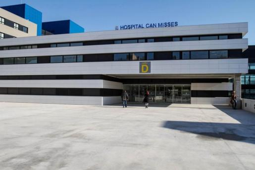 Imagen de la entrada del hospital Can Misses.