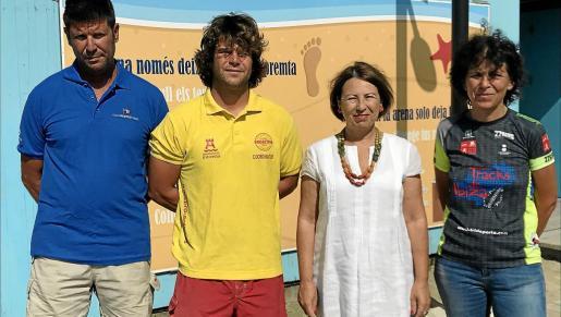 Montse García, concejala de Medi Ambient, presentó ayer las actividades que tendrán lugar este fin de semana.