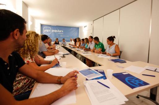 Imagen de la tercera jornada de coordinación insular del Partido Popular.