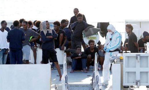 Llegar a Europa, cada vez más peligroso para migrantes y refugiados.