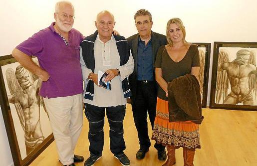 Martín Garrido, Riera Ferrari, Tòfol Vidal y Beatriz Barón.