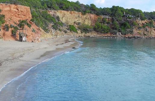 Imagen de archivo de Cala Llenya, playa donde a primera hora de ayer fue localizado el cadáver.