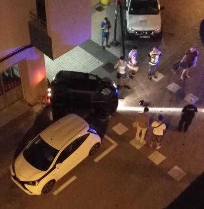 Lugar del accidente entre la calle Isidor Macabich con Canarias de Vila
