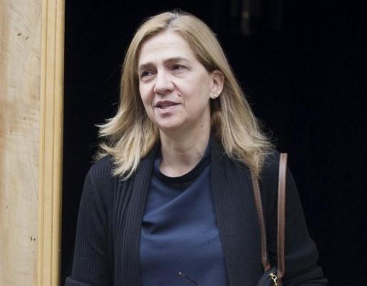La infanta Cristina recupera 322.000 euros de la fianza del caso Nóos.