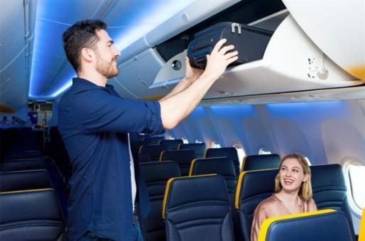 Los clientes de Ryanair que reservaron antes del 31 de agosto podrán llevar equipaje de mano gratuito.