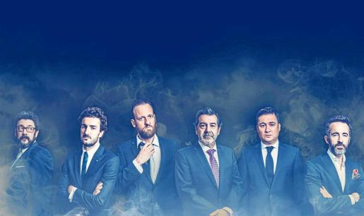 Cartel promocional de la obra de teatro 'Smoking room'