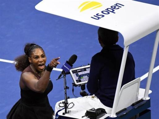 Serena Williams: «Nunca se le quitó un juego a un hombre por llamar ladrón a un juez de silla».