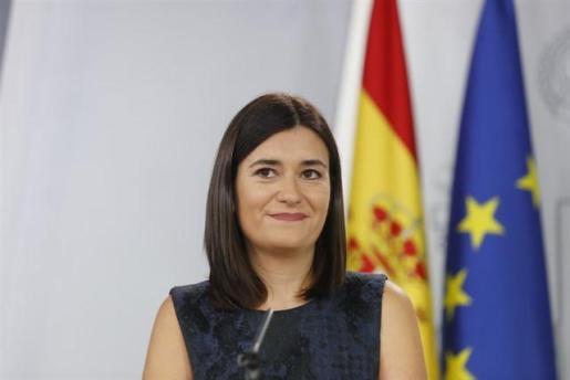 Imagen de la ministra Carmen Montón.
