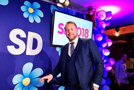 La ultraderecha europea celebra los resultados en Suecia.