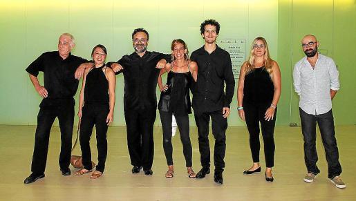 Barry y Mayumi Sargent, Francesc Blanc, Marga Gual, Marc Alomar, Beatriz García y Amadeu Corbera.