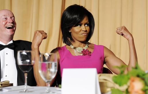 La esposa del presidente de Estados Unidos se convertirá por un día en un personaje de dibujos animados.