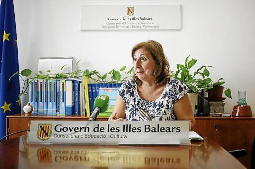 Margalida Ferrer, delegada de Educación en Ibiza y Formentera.