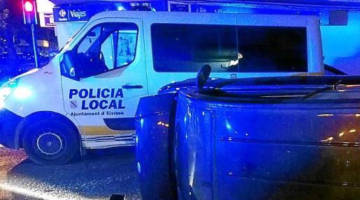 Un conductor cuadruplica la tasa de alcohol después de sufrir un accidente en Vila.