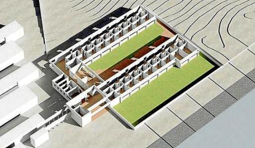 Imagen de cómo será la residencia. Foto: CONSELL DE FORMENTERA