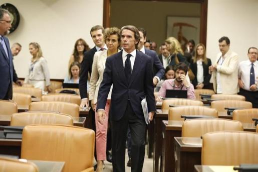 Aznar se desvincula del jefe de la Gürtel: «Ni conocía al señor Correa ni le contraté».