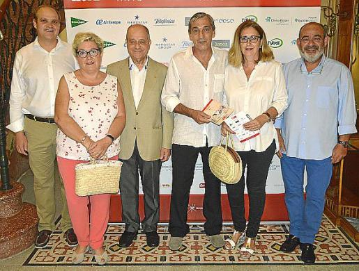 Luis Rullan, Maria Boter, Tolo Oliver, Javier Forteza, Teresa Reynés y Alfons Moll.
