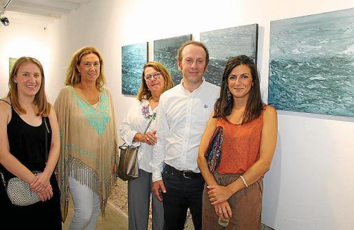 Lourdes Socías, Silvia Puertas, Marisa Aldeguer, Guillermo Simón y Lluc Darder.