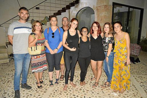 Jaume Bover, Maribel Pérez, Maria Bover, Pep Bover, Maria del Camí Moyà, Maria Campins, Martina Damico, Katina Georgeva y Àgueda Mir.