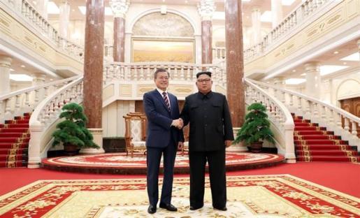 Kim acuerda tomar medidas adicionales para lograr la desnuclearización de Corea.