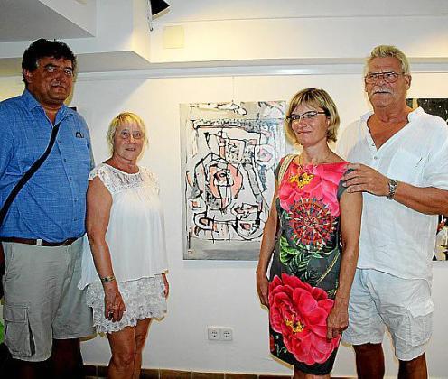 Michel Boslé, Anne Lisa Eller, Christine Boslé y Anthony van Breukelen.