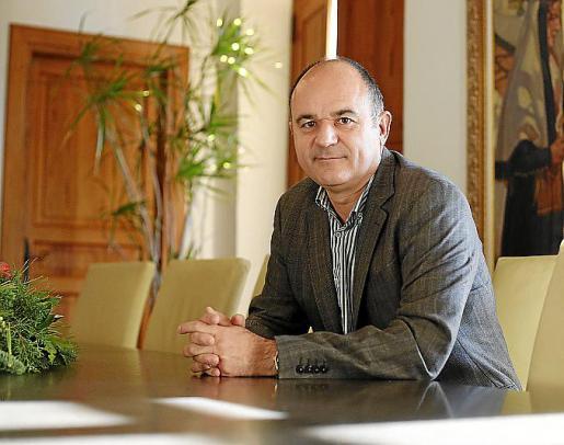 Vicent Marí es alcalde de Santa Eulària. Foto: ARGUIÑE ESCANDÓN
