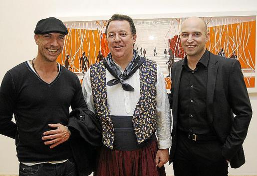Jorge Cabral, Rafel Torres y el ganador, Robert Ferrer.