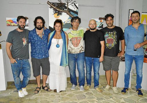 Magdalena Abrines, Aina Domingo, Marga Vallespir, Lorena Reynés y Gracia de Juan.