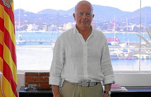 Pep Tur 'Cires', alcalde de Sant Antoni, y su equipo de gobierno serán interrogados por el PP en el pleno de septiembre.