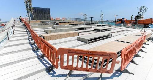 La finalidad de la medida es proteger este espacio público y la seguridad de los peatones