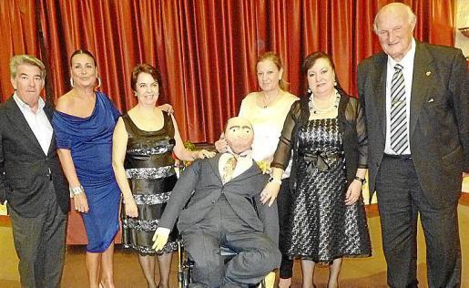 Manuel Vidal, Maruja García Nicolau, Cati Sánchez, María José Tirante, Nati Conde y Martín Mora.