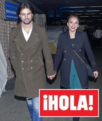 Chenoa y su nueva pareja, Curi Gallardo.