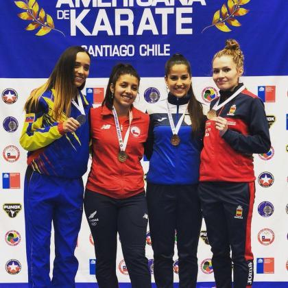 Cristina Ferrer logra el bronce en la Copa Iberoamericana.