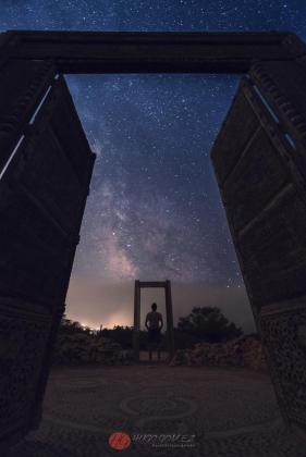 Un portal a las estrellas.