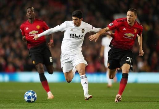 El Valencia se abona al empate en Old Trafford.
