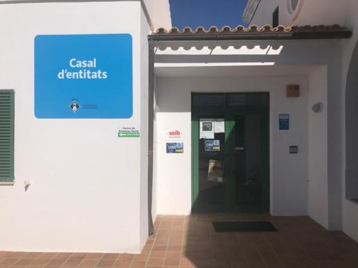 Local habilitado para tramitar los DNI en Formentera.