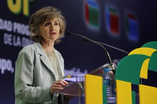 La ministra de Sanidad, Consumo y Bienestar Social, María Luisa Carcedo, ha inaugurado el X Congreso Estatal de Unidad Progresista de la ONCE.