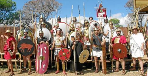 Asociación Pitiusa de Recreación Histórica Iboshim (Ibiza).