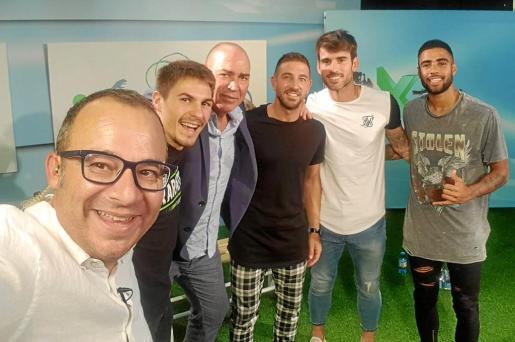 Paco Pérez, Pedro Román, Juan Mesa, José Carlos Moreno, Juan Carlos Ortiz y Fran Núñez, protagonistas de ayer en Dxtef.
