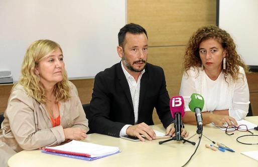 Pilar Costa, consellera de Presidència, anunció una partida presupuestaria contra la trata.
