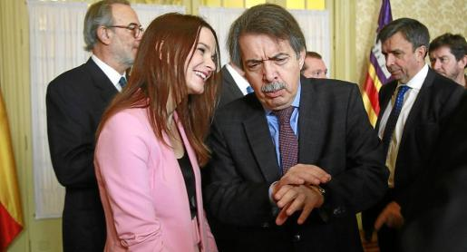Margalida Prohens reconoce coincidencias, pero también divergencias con el partido de Xavier Pericay.